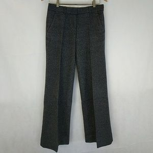 Theory wool blend wide leg trouser sz 2